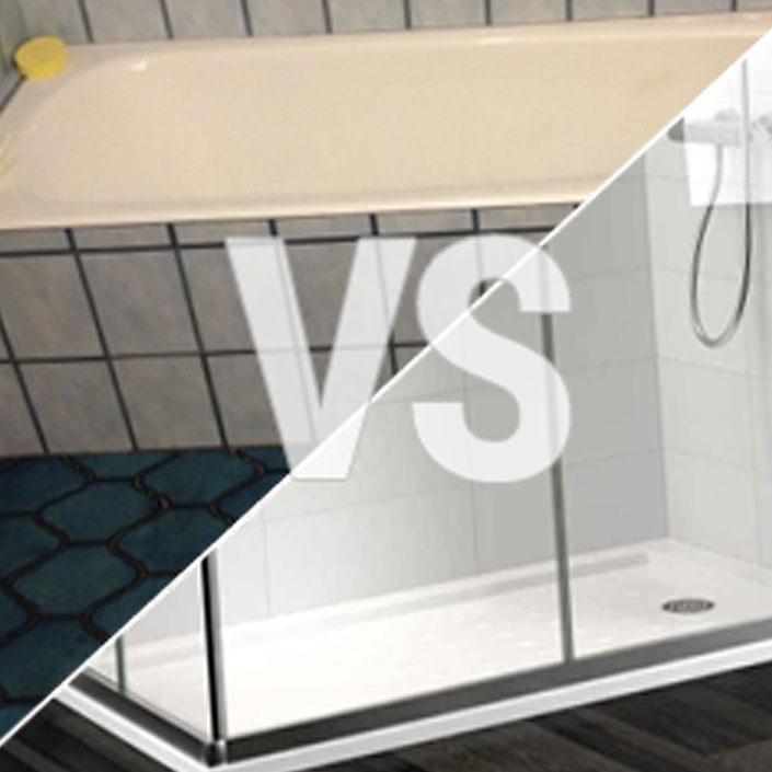 Instalar plato de ducha sustituir ba era por plato ducha for Instalar plato de ducha